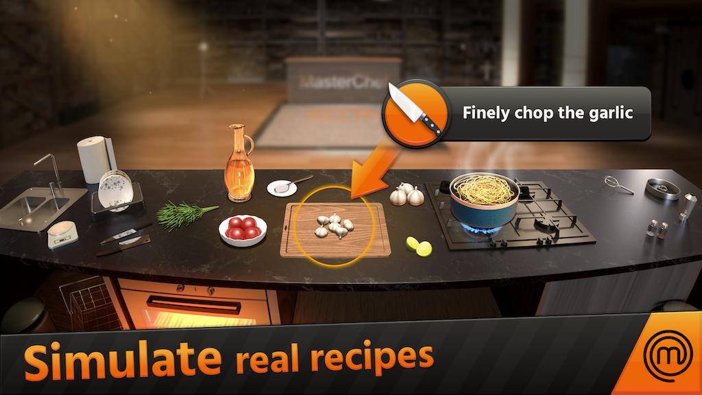 Simulate real recipes