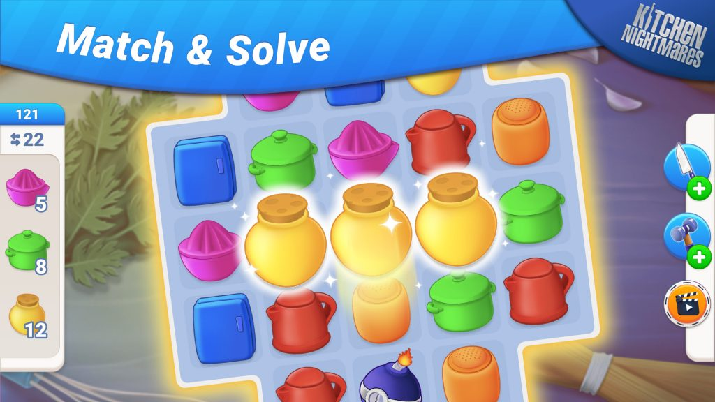 Match and solve