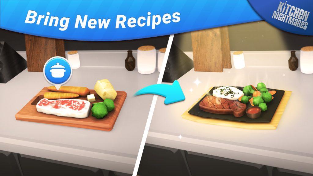 Bring new recipes