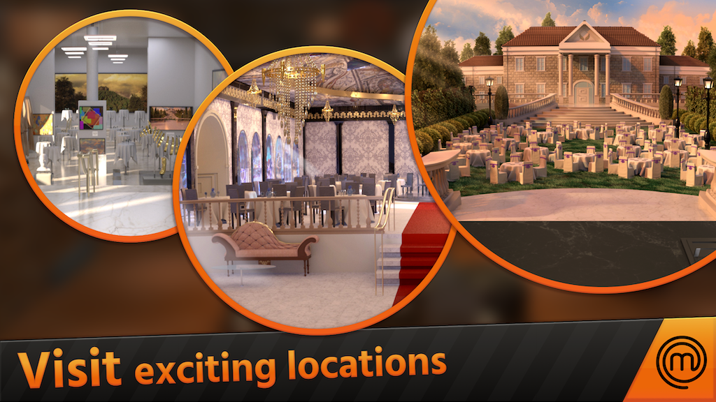 Visit exciting locations